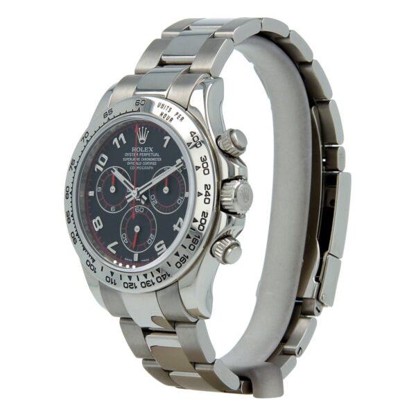 Rolex Daytona 116509 40mm White Gold Steel Sapphire Watch
